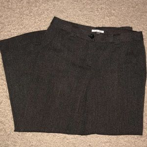 CAbi Pants - tapered cabi dress pants wide leg tweed Size 12
